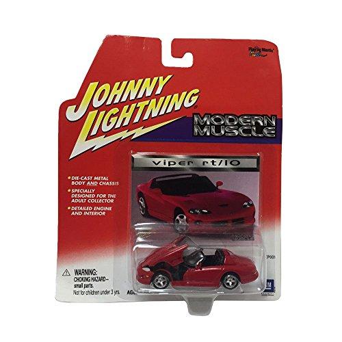 Johnny Lightning Modern Muscle Dodge Viper Rt/10 1:64 Scale Diecast Car Replica (10 Replica Car)