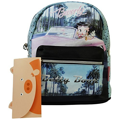 Betty Boop Beverly Soft Backpack Casual for Women For Sale