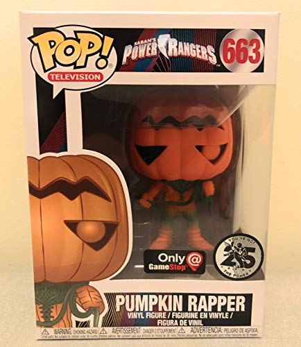 (Funko Pop Television: Power Rangers - Pumpkin Rapper Collectible Figure, Multicolor)