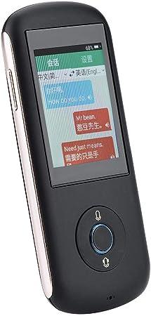 Zoternen Traductor de Voz Instantaneo y Portatil,Traductor Inteligente de Bolsillo a 35 Idiomas con 2.4 Pulgadas Pantalla Táctil,WiFi Tarjeta SIM(2G/3G/4G) Hotspot(Negro): Amazon.es: Hogar