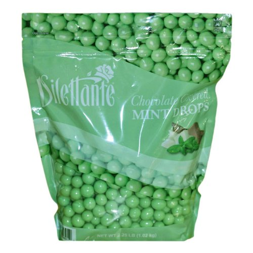 Mint Dropz in Premium Chocolate - 36oz Pouch (2.25lb) - By Dilettante