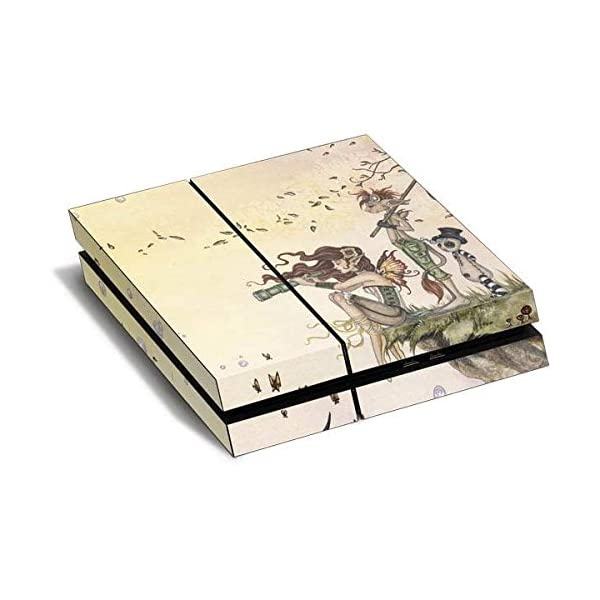 Fantasy & Dragons PS4 Horizontal (Console Only) Skin - Where The Wind Takes You Vinyl Decal Skin For Your PS4 Horizontal (Console Only) 3
