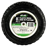 Atlas Replacement 8-Inch Plastic Lawn Mower Wheel