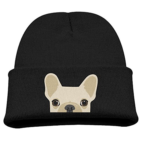 Wooly Bear Dog Costume (BaPaLa Children's Dog Face Skull Cap Beanie Soft Winter Knitted Hat)