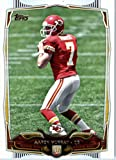 2014 Topps NFL Football Card #414 Aaron Murray Kansas City Chiefs ( University of Georgia) ROOKIE CARD