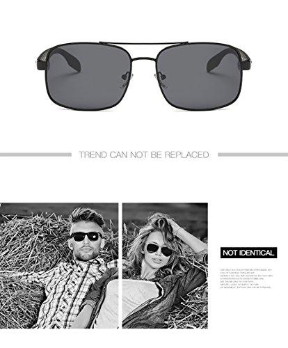UV Hombre De para Mujer Polarizadas C4 Sol C4 400 Protección Gafas para Aviator nOwgzg0x