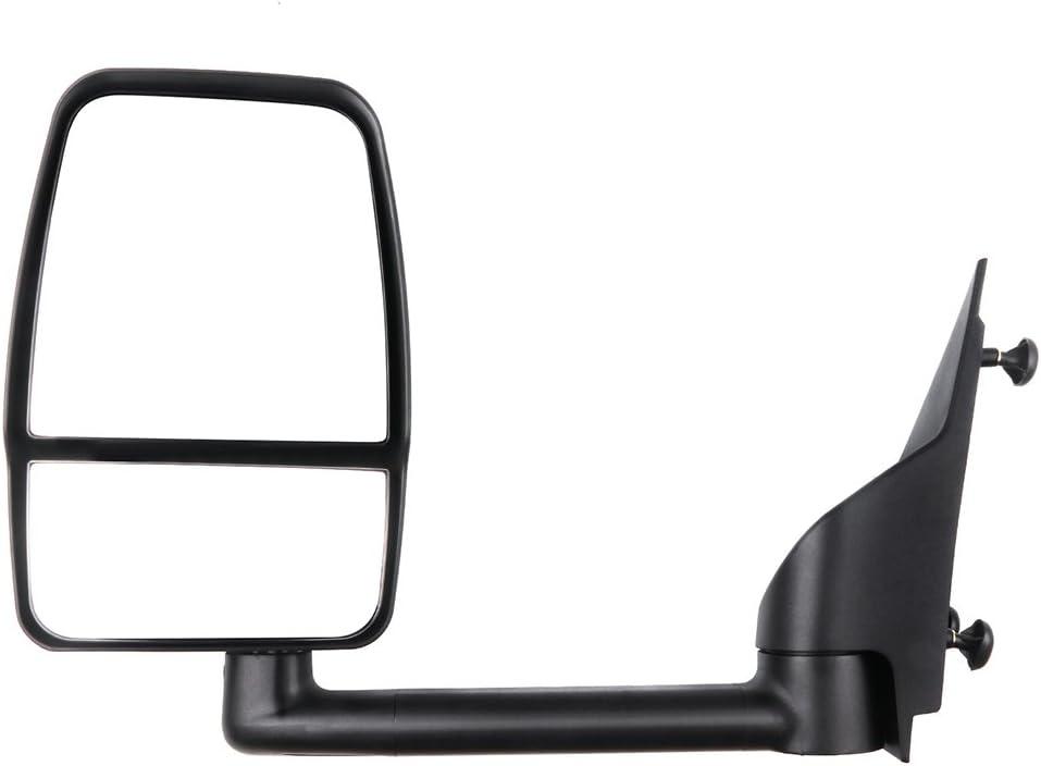 SCITOO Door Mirror Driver Side Fit Chevrolet GMC Exterior Accessories Mirror 2003-2011 Chevrolet GMC Express Savana Van 1500//2500//3500//4500 with Manual Controlling