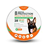 Melkaart Collar for Dogs - Control and Treatment for Dogs - 8 Months Protection - Hypoallergenic and Safe Design - One Size Fits All - Waterproof Collar - Puppies, Adults, and Senior Dogs