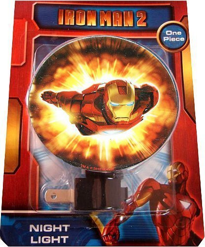 Iron Man 2 The Movie Rotary Shade Night Light Review