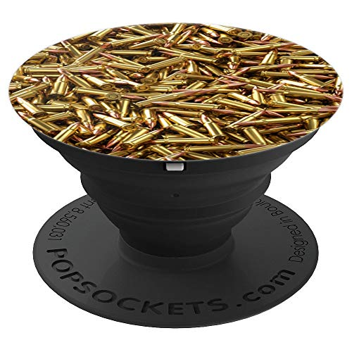 - AR 15 223 Rem Pile of Ammunition Bullets For Sport Shooting - PopSockets Grip and Stand for Phones and Tablets