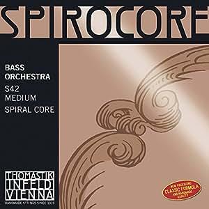 Corde Thomastik per contrabbasso Spirocore Spiralkern La Soft Set orchestra. 3/4;
