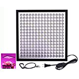 Lendoo ultra-thin LED Grow Light, 45W 6-Band Full Spectrum plant panel for Indoor Plants Garden Greenhouse Hydroponic Growing( 225 pcs LED Beads)