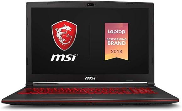 Amazon Com Msi Gl63 8rcs 060 15 6 Gaming Laptop Intel Core I5 8300h Nvidia Gtx1050 8gb 256gb Nvme Ssd Win10 Computers Accessories