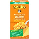 Annie's Homegrown Shells with Real Aged Cheddar Macaroni & Cheese, 170 Gram
