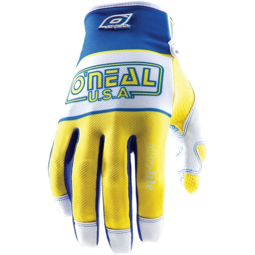 O'Neal Racing Jump Ultra-Lite '83 Men's Off-Road/Dirt Bike Motorcycle Gloves - Blue/Yellow / Size 8