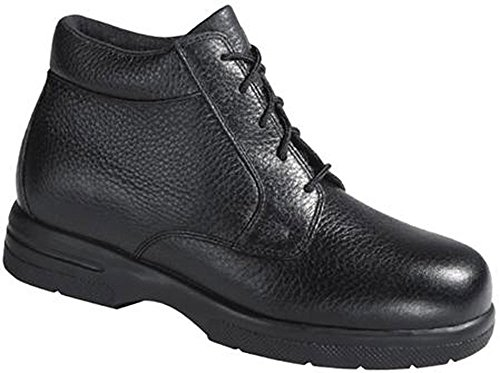 Drew Shoe Mens Tucson Black Comfort Boots 14 4w