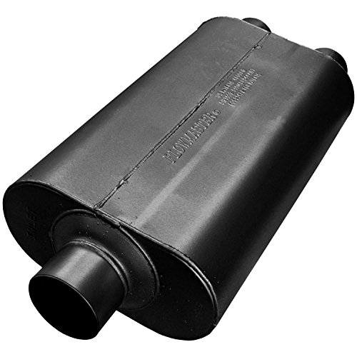 Flowmaster 530552 Super 50 Muffler - 3.00 Center IN / 2.50 Dual OUT - Moderate Sound -
