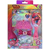 Townley Girl Dreamworks Trolls Hair Accessories Set with Hairclips, Bobby Pins, Haircomb, Mirror,...