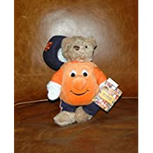 SYRACUSE PLUSH OTTO ORANGE MASCOT STUFFED TEDDY BEAR 11""