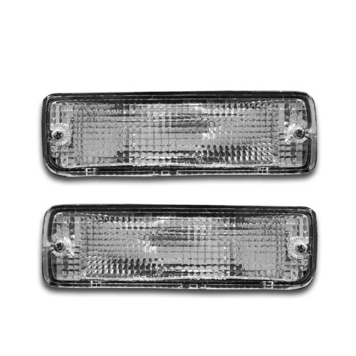 SPPC Bumper Lights Clear For Toyota Pickup - (Pair)