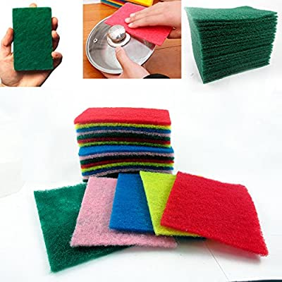 40 Scouring Pads Home Kitchen Scour Scrub Cleanning Brillo Pad Sponge Wholesale