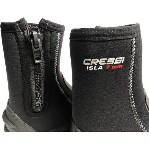 Cressi Isla, Black/Grey, 7mm, 10