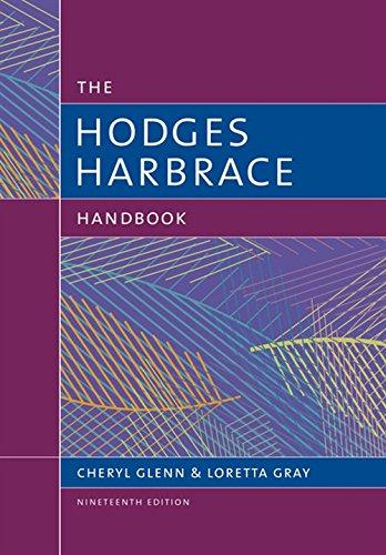 The Hodges Harbrace Handbook (with 2016 MLA Update Card) (The Harbrace Handbook Series)