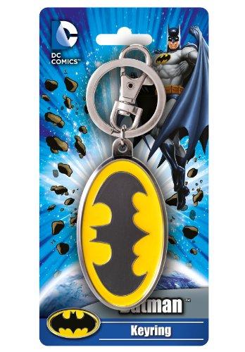 DC Batman Colored Logo Pewter Key ()
