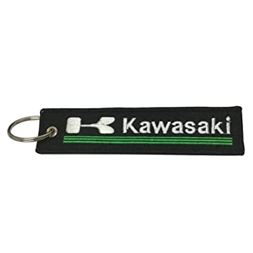Supbike New Rectangle Tag Keychain Superbike Motorbike Racing Motorcycle Car Bike Keychain Fast Speed Fit for Kawasaki Ninja 650 ABS Kawasaki Ninja ...