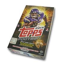 2013 Topps Football Cards Hobby Box