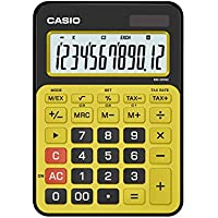 Casio MS-20NC-BYW Basic Calculator LARGE DISPLAY Tax Calculations