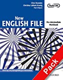 New English File: Pre-intermediate: Workbook with key and MultiROM Pack: Six-level general English course for adults: Workbook with Answer Booklet and Multirom Pack Pre-intermediate lev