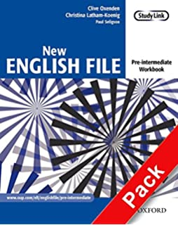 Buy new english file pre intermediate teachers book with test new english file pre intermediate workbook with key and multirom packsix level fandeluxe