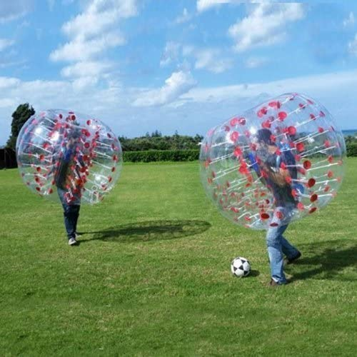 Stagersoccer® Pelota Hinchable de Parachoques Bubbler balón de fútbol para Las escuelas Partes Empresa de Alquiler de Actividades 1 por Caja (Rojo, 1,5 m): Amazon.es: Deportes y aire libre