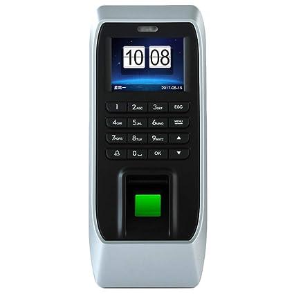 TOOGOO Tiempo Registrador De Reloj Empleado Sistema De Control De Acceso De Huellas Dactilares De Pantalla