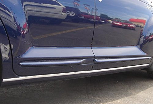 Rocker Panel Chrome Trim (2 Piece Chrome Rocker Trim Molding Kit)