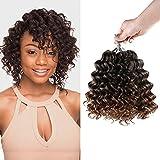 Best Hair For Crochet Braids - Multi-Pack Deals! FreeKalon Synthetic Hair Crochet Braids Curl Review