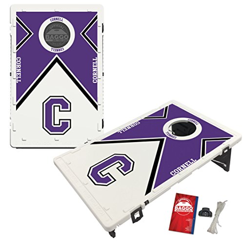 Cornell College Rams Baggo Bean Bag Toss Cornhole Game Vintage Design by Victory Tailgate