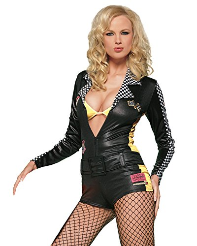 Sexy Race Car Driver Jumpsuit Costume