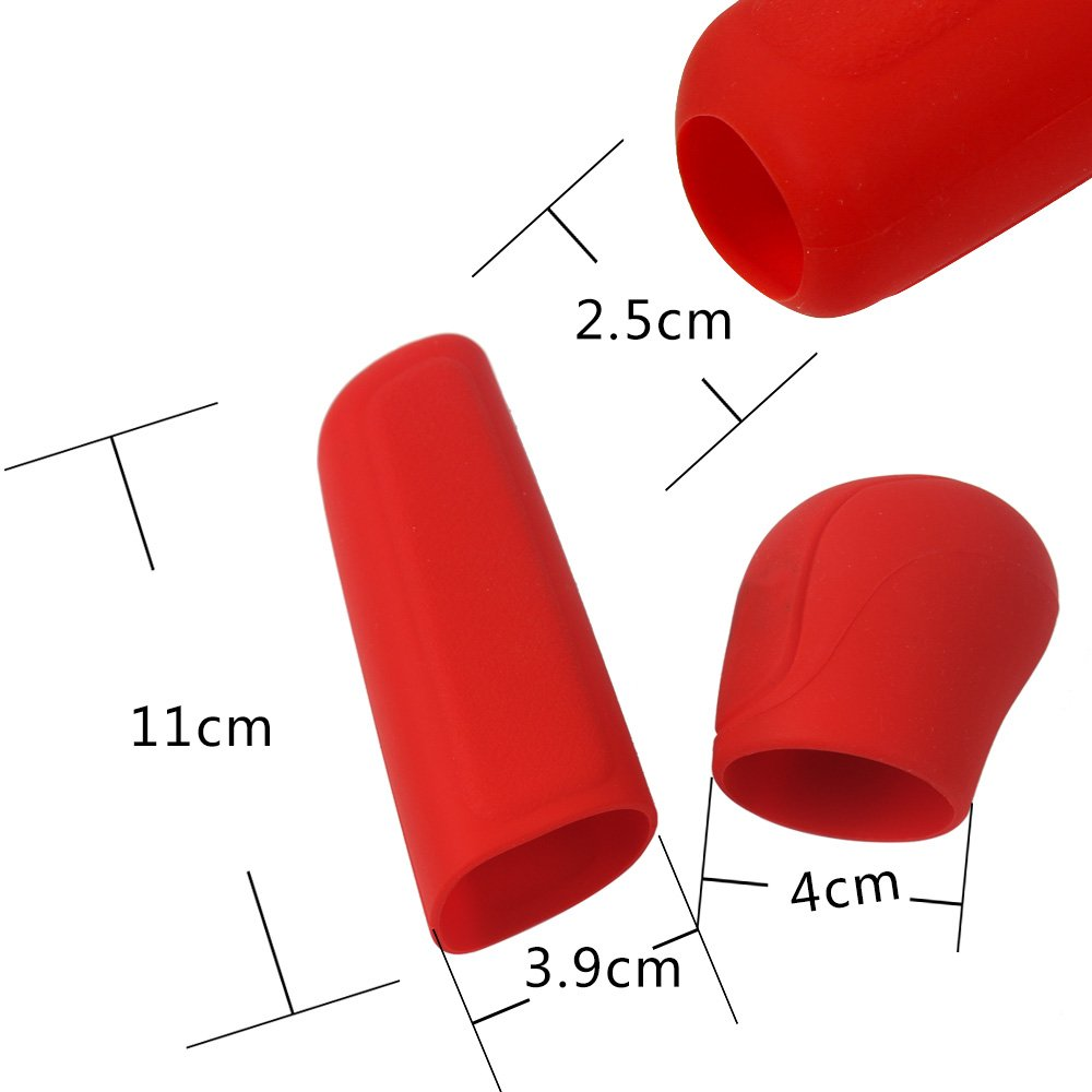 iTimo Silicone Car Hand Brake Cover and Gear Head Shift Knob Cover Automobiles Accessories