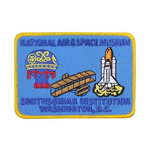 Smithsonian Air & Space Museum Patch Washington DC Souvenir Iron-On Applique
