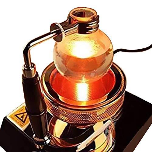 (TOPCHANCES 220V Halogen Beam Heater Burner Infrared Heat for Hario Yama Syphon Coffee Maker (1 Head Halogen Beam Heater) )
