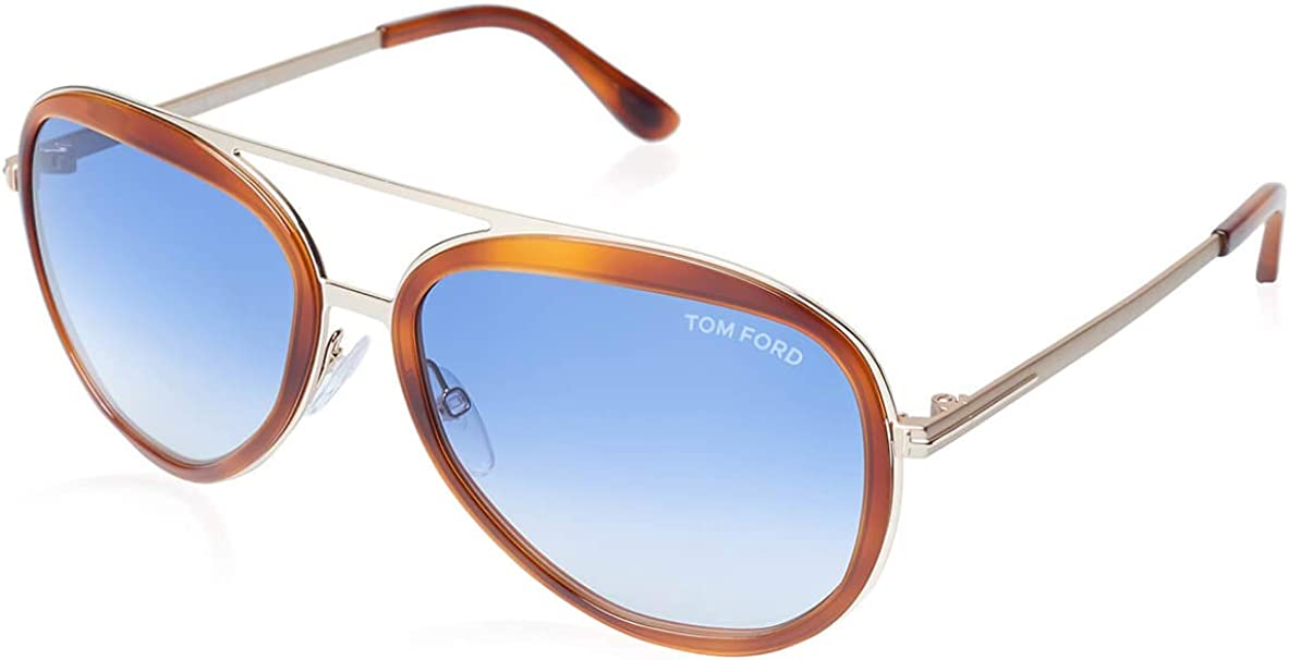 Tom Ford Andy FT0468-56W-58 Men/'s Blue Gradient Lens Sunglasses
