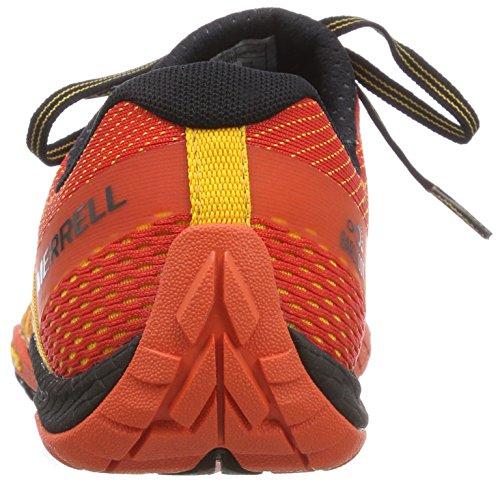 Glove Traillaufschuhe 4 Safran Merrell Herren Orange E Mesh Trail Hzx6n7