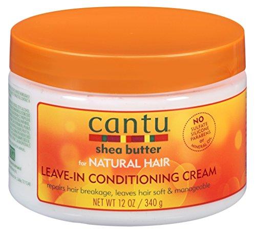 Cantu Natural Hair Leave-In Conditioner Cream Jar