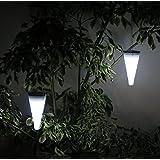 Frostfire Dropcone - Waterproof Solar Hanging Light (Set of 2)
