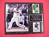 Brewers Prince Fielder 2 Card Collector Plaque