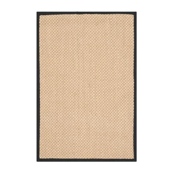 Safavieh NF141C-10 Area Rugs - Construction Power Loomed Fiber/Finish 100% Sisal Pile Backing Power Loomed Rugs Do Not Use Backing Material On The Underside Of The Rug. A Thin Coat Of Latex Is Applied To The Underside Of The Rug To Secure The Yarns Firmly In Place. This Latex Coat Is Virtually Invisible And Is Not Considered Backing Material. - living-room-soft-furnishings, living-room, area-rugs - 51YLa2mspuL. SS570  -