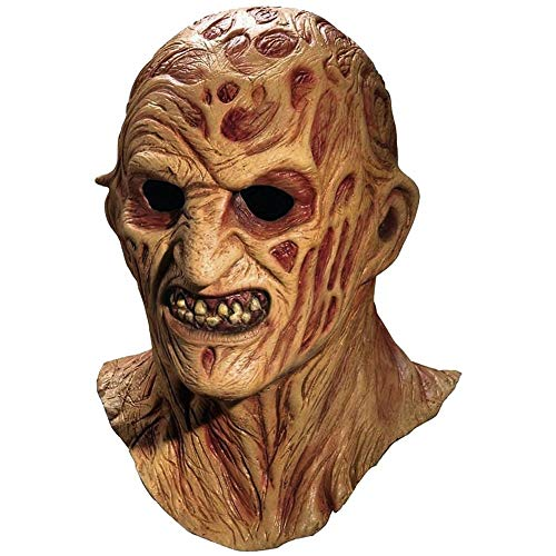 Freddy Krueger Mask Adult Scary Halloween Costume Fancy Dress- Sold by Online Gifts!