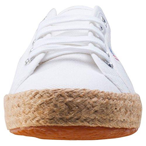 Adulto Baja White Superga 2750 Zapatilla Unisex Cotropew nXn1wqS